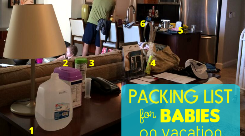 Packing-List-for-Babies-on-Vacation