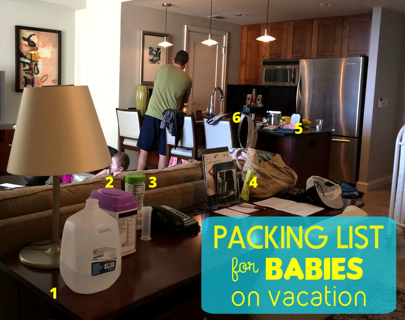 Packing List for Babies on Vacation