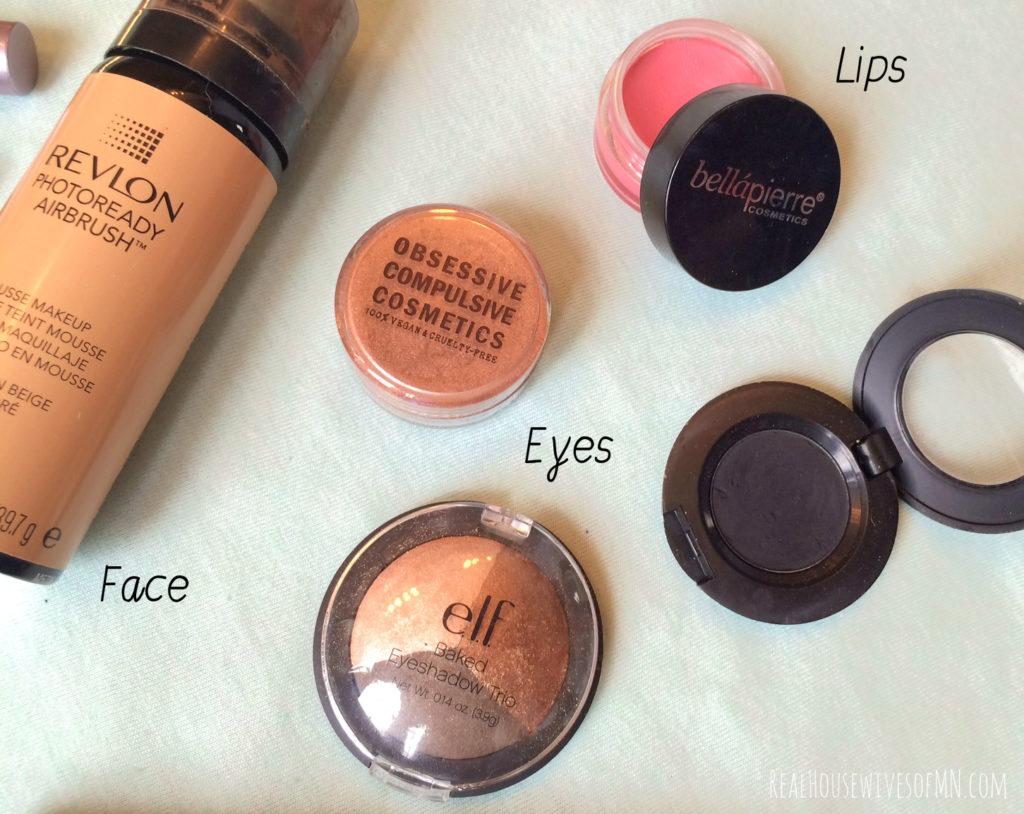 best face eyes and lip products