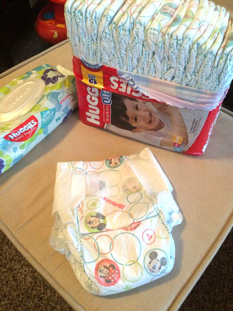 huggies snug and dry #ad