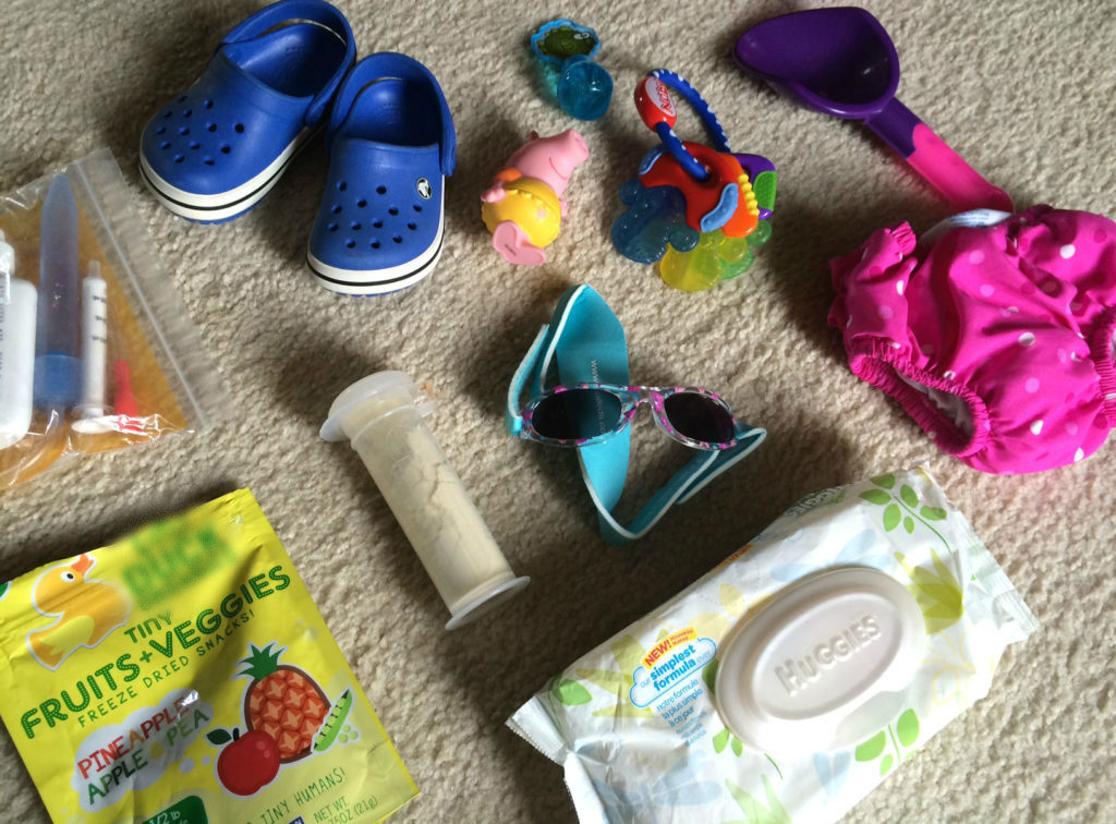 packing list vacation with baby #ad