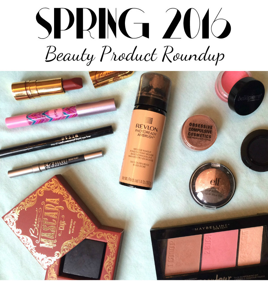 spring 2016 beauty product roundup