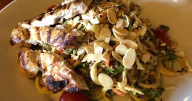 inspiralized houlihans dishes