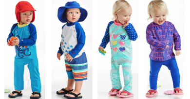 coolibar upf swimwear for babies