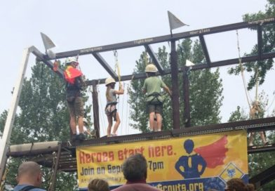 Boy Scouts of America {& State Fair Ropes Course!}
