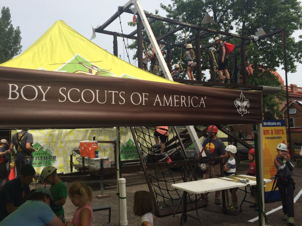 boy scouts of america at the minnesota state fair 2016