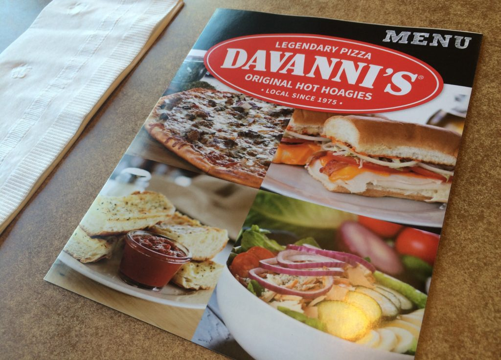 davanni's menu