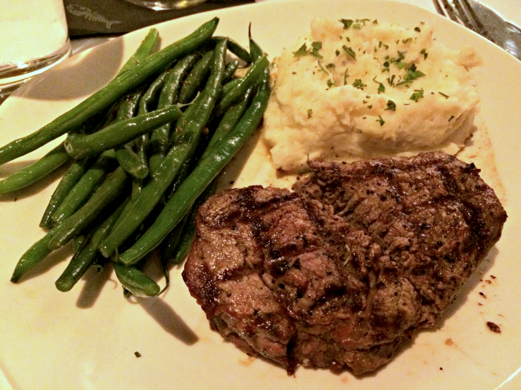 filet mignon at bonefish grill