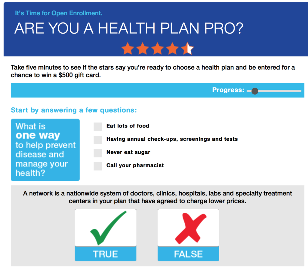 Are you a health plan pro?