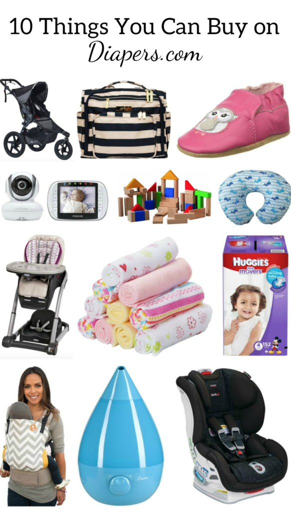 10 Things you can buy on Diapers.com (other than diapers!)