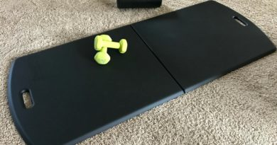 MobileMat soft fitness mat for home