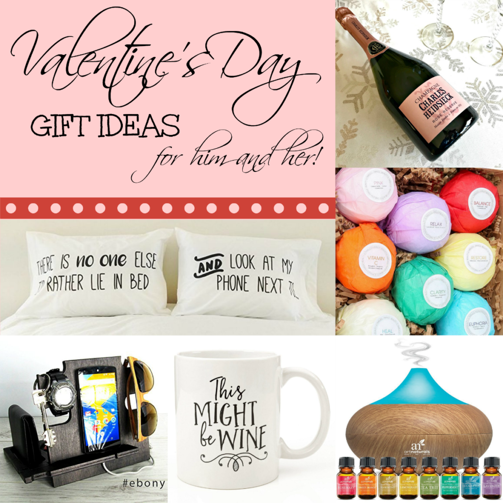 Valentines day gift ideas for him and her