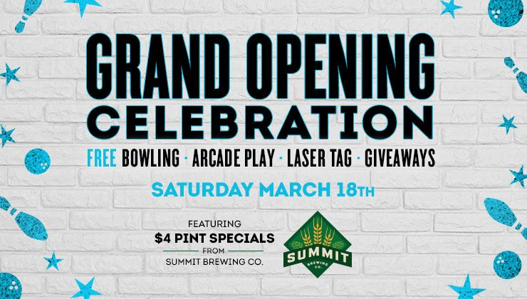 Bowlero Minnesota Grand Opening 2017