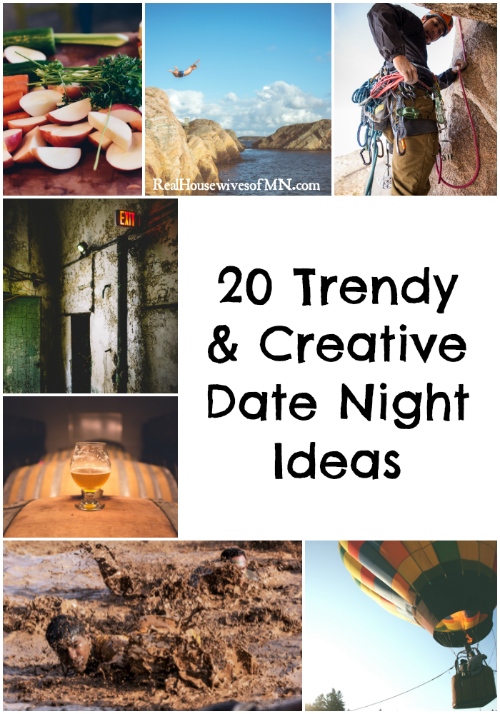 20 trendy and creative date night ideas to try