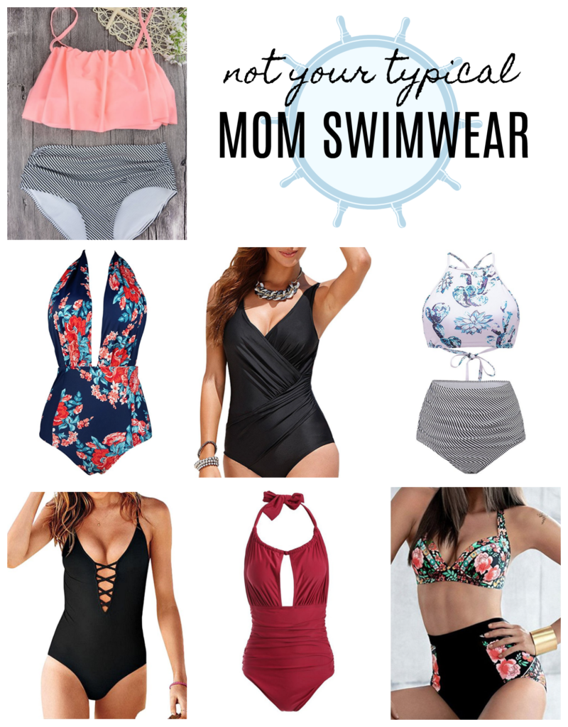 Not your typical mom swimwear trends for 2017