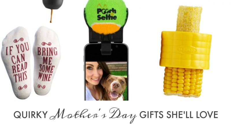 quirky mothers day gifts