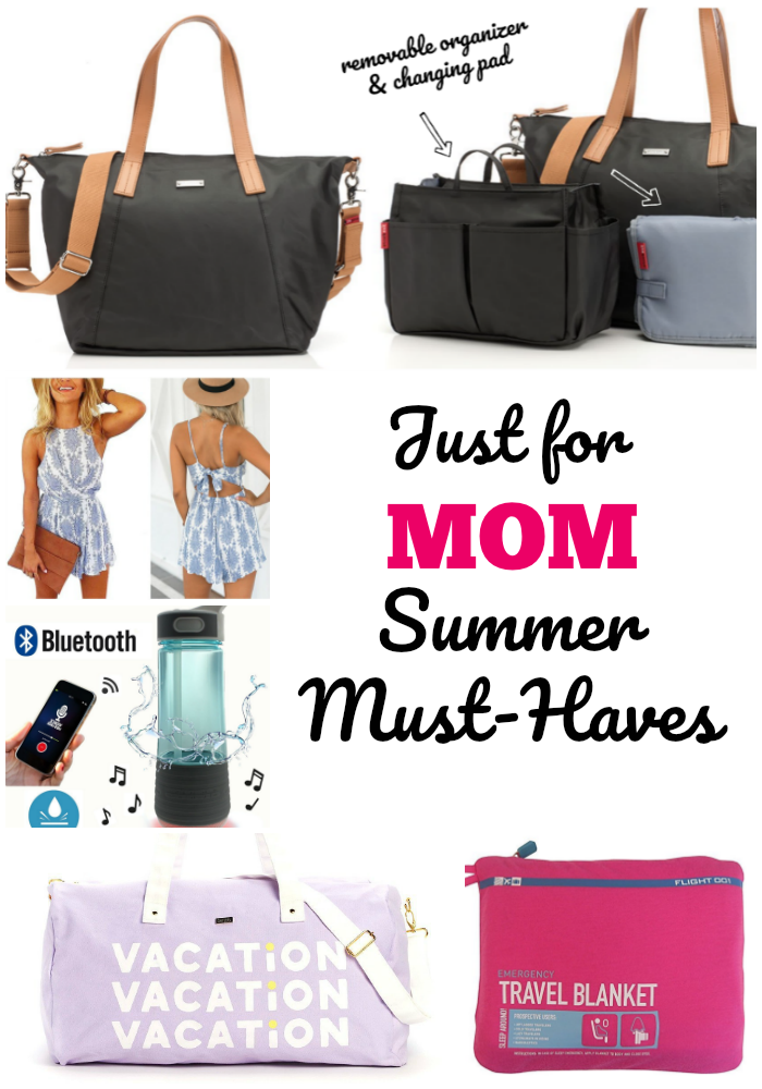 Just for mom - summer must haves to keep any mom sane this summer