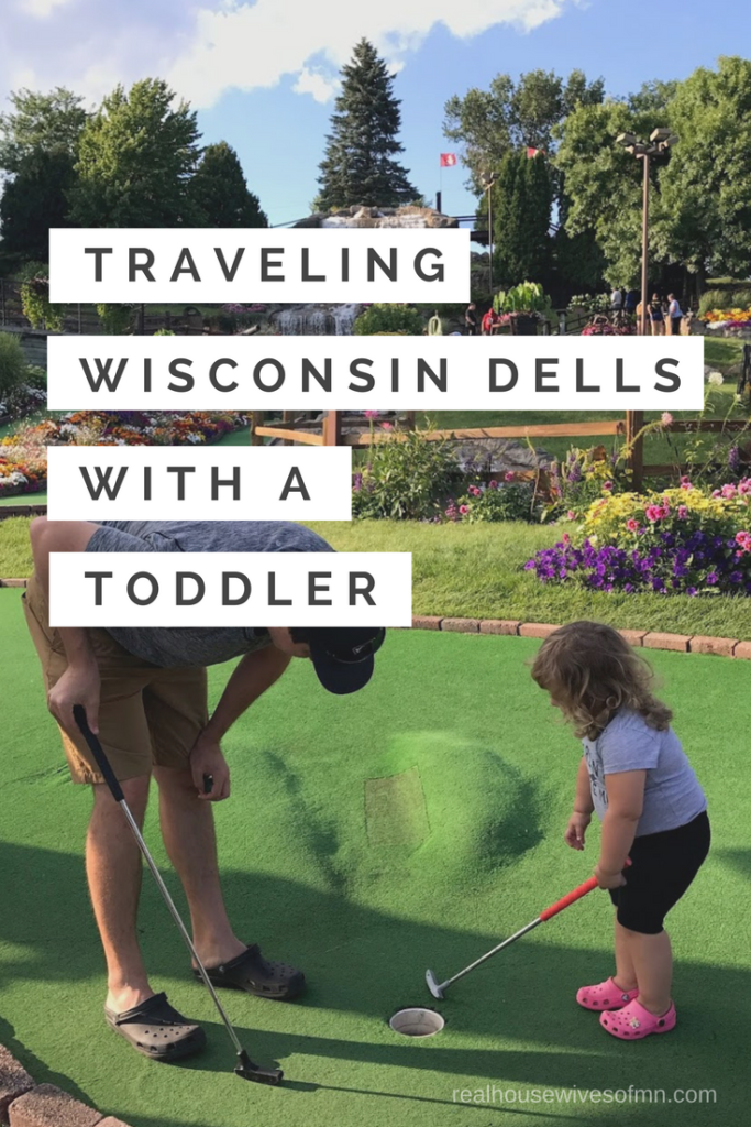 Traveling Wisconsin Dells with a Toddler