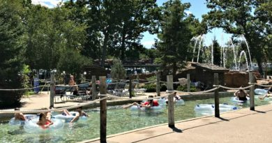 Wisconsin dells lazy river at Noah's ark