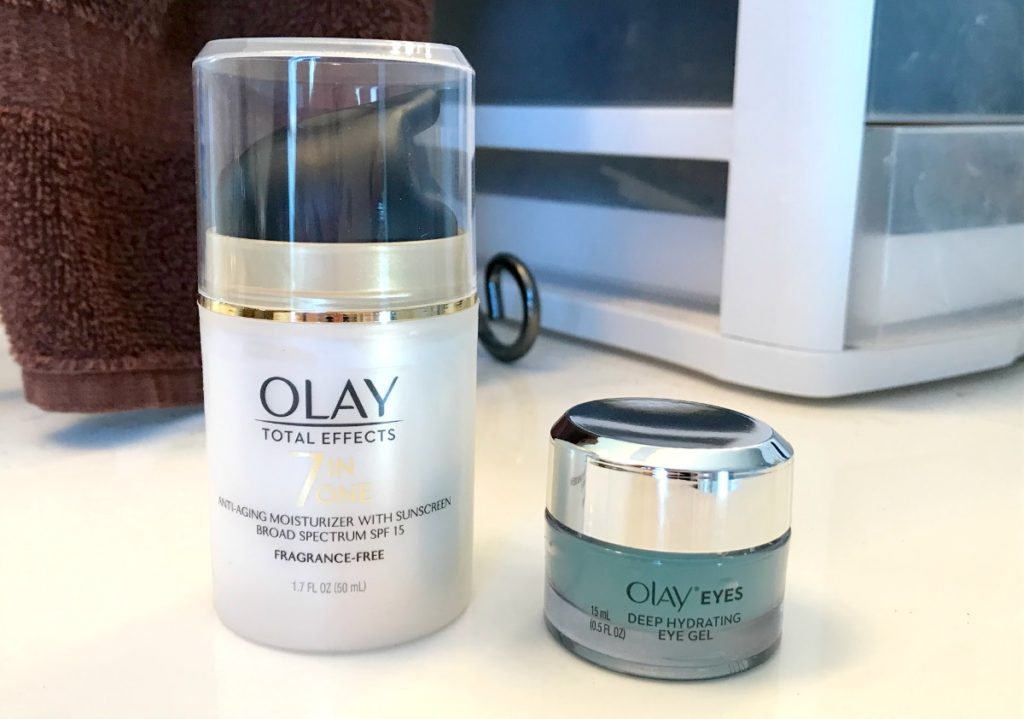 olay total effects and eye gel