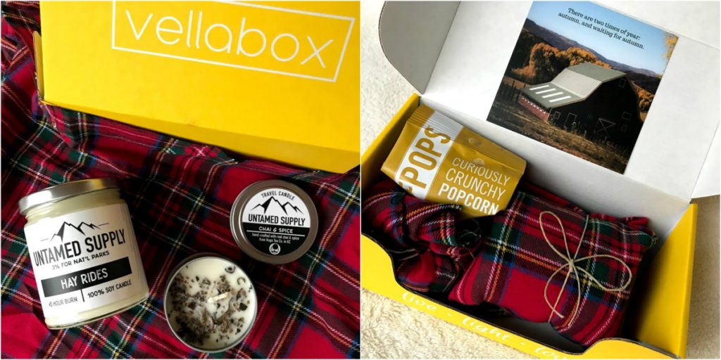 Vellabox candle box