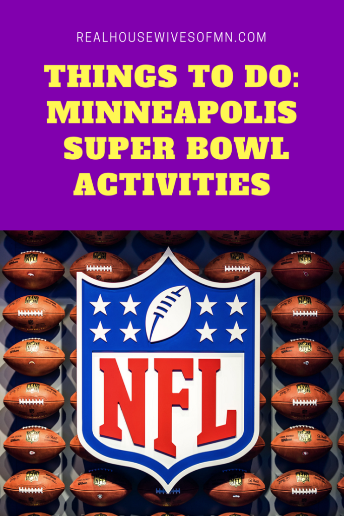 Minneapolis Super Bowl Activities for the Family January to February 2018