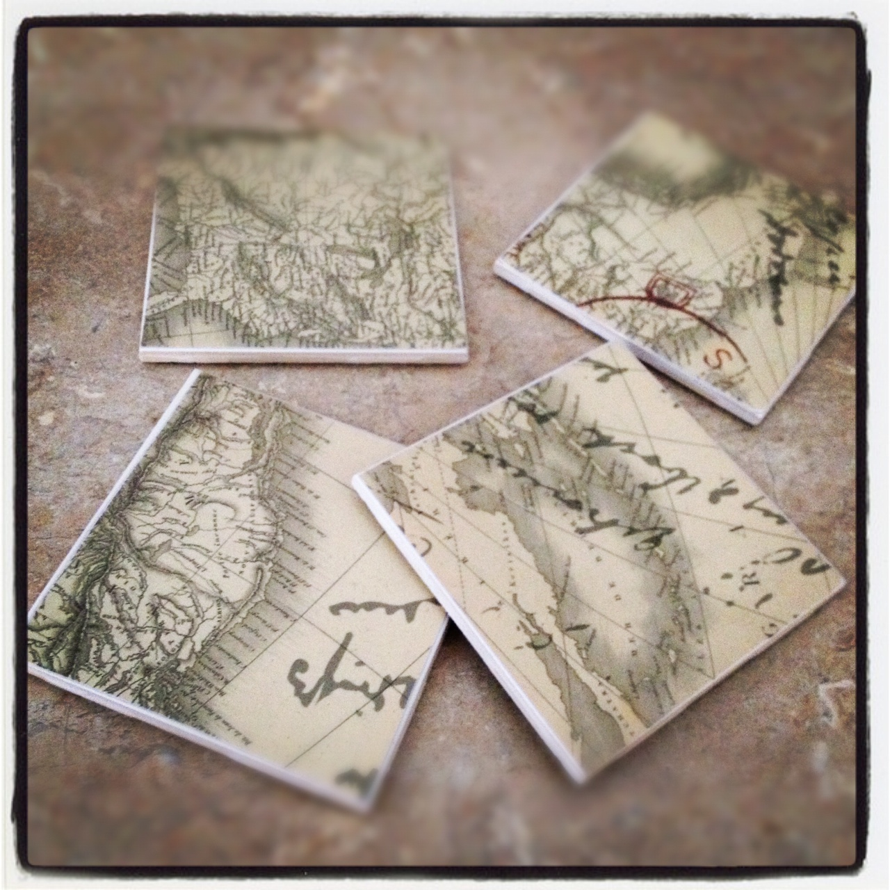 Diy Cheap Easy Tile Coasters Real Housewives Of Minnesota