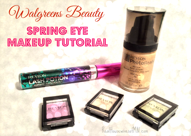Walgreens Beauty: Makeup Tips And Spring Eyes Tutorial
