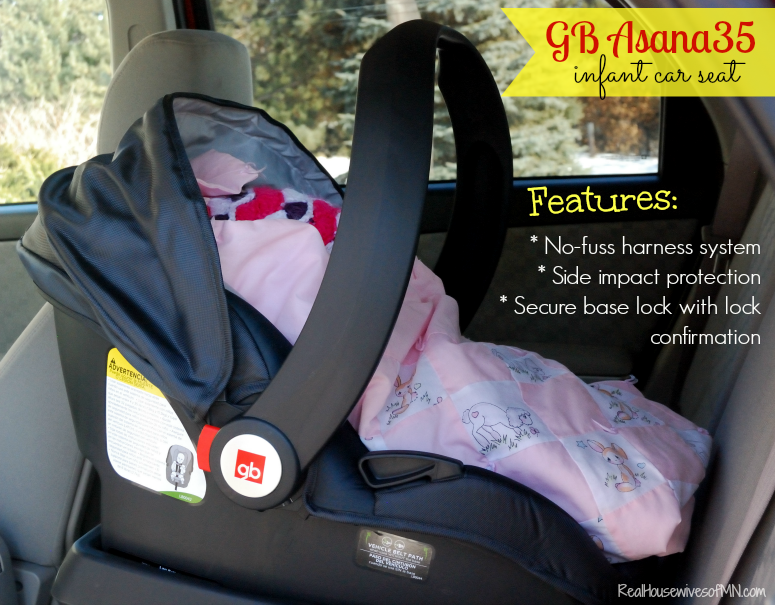 GB Asana35 infant car seat - Real Housewives of Minnesota