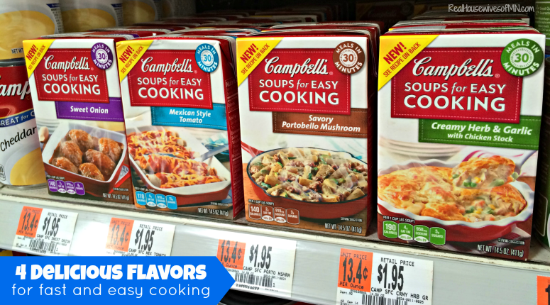 Campbells Soups For Easy Cooking Flavors