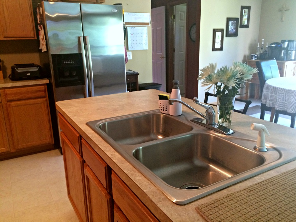clean kitchen sink home - Real Housewives of Minnesota