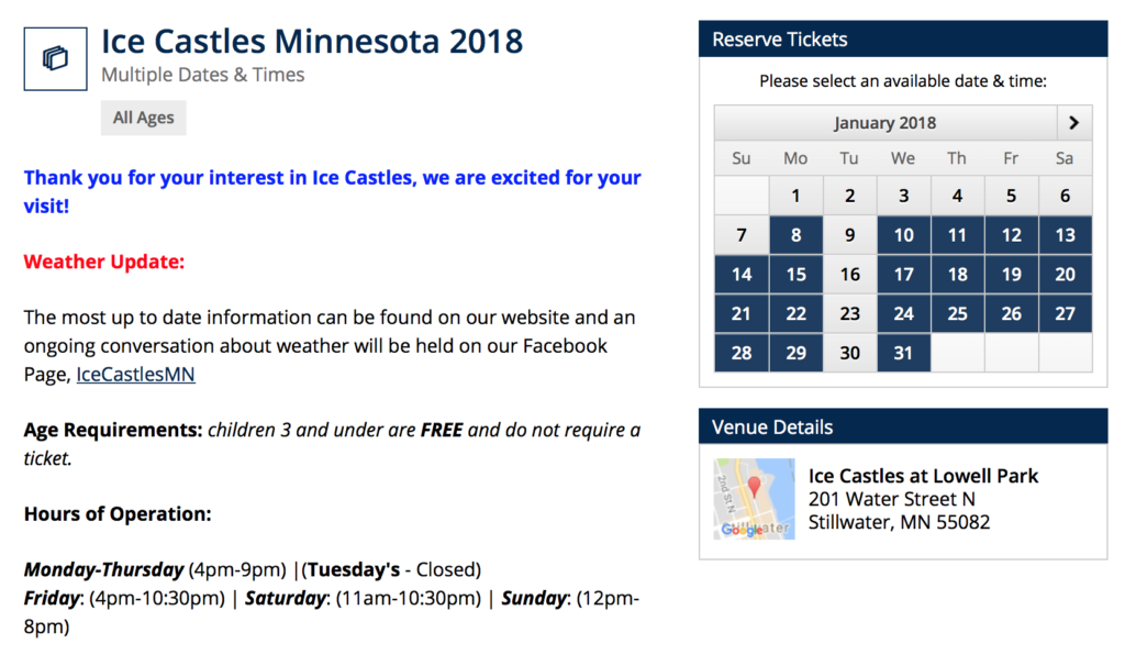 Stillwater Ice Castles Minnesota Coupon Real Housewives Of Minnesota