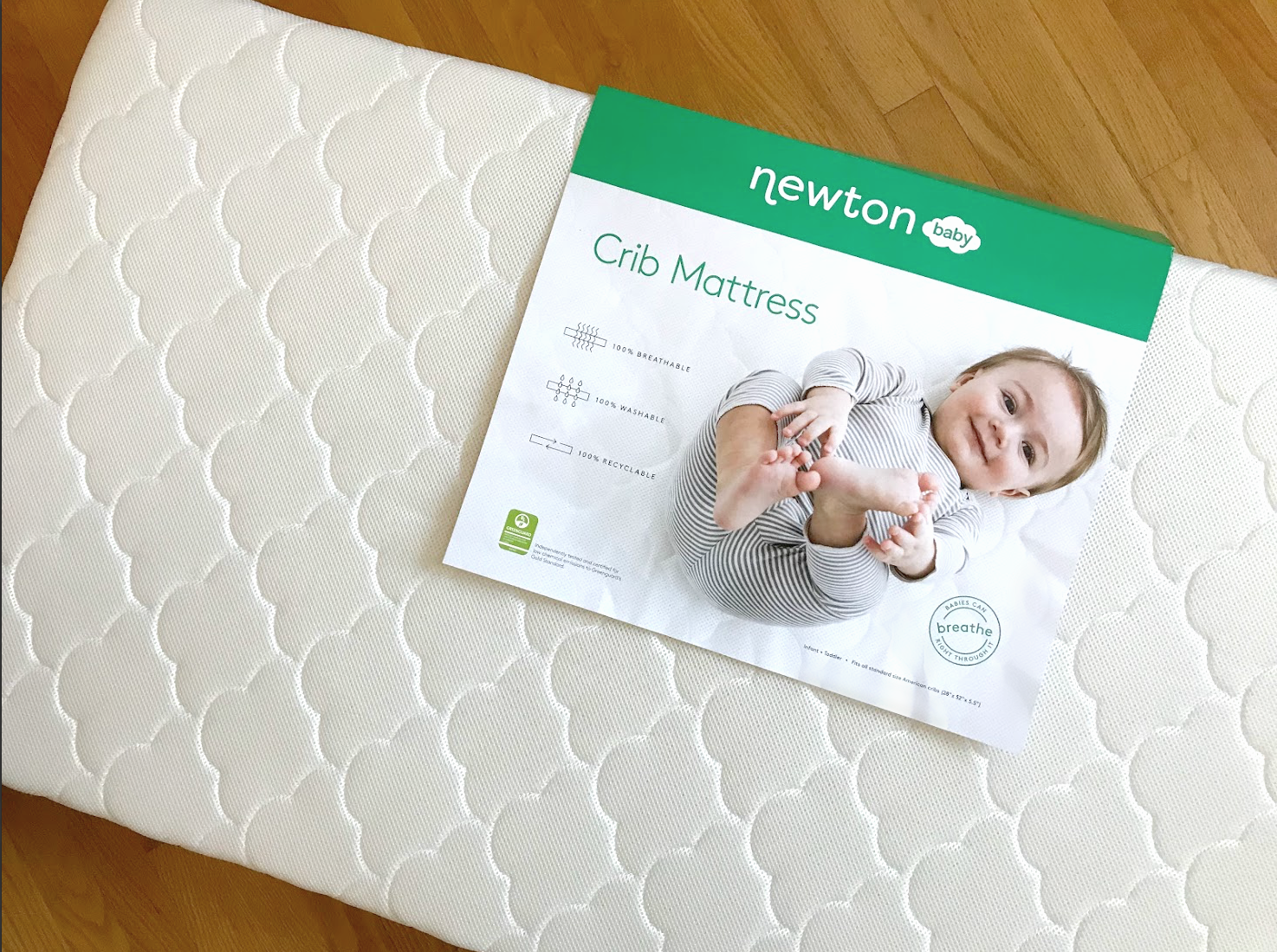 we tried the new 'revolutionary' newton baby crib mattress - real