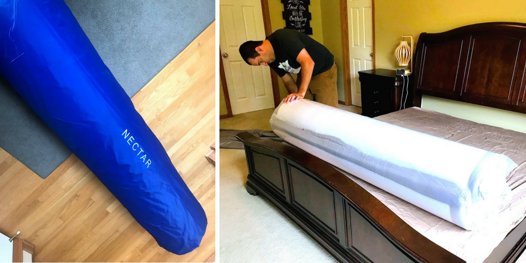 wholesale dealer fd76a 232bc NECTAR Mattress Unboxing & Review - Real Housewives of Minnesota