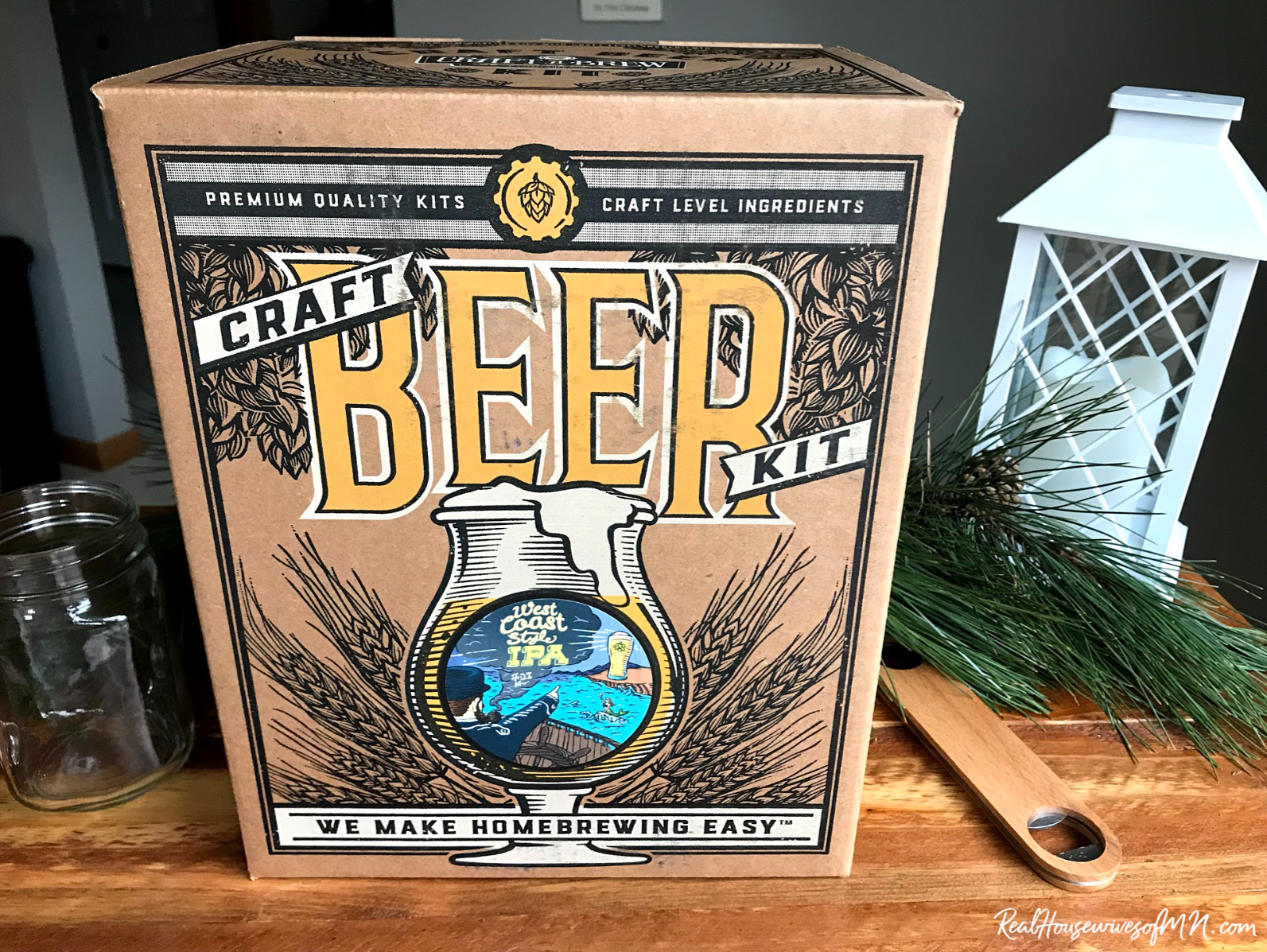 beer brewing kit gift